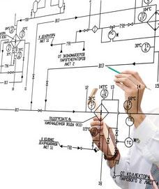 Legalización de instalación de baja tensión en planta de oficinas.